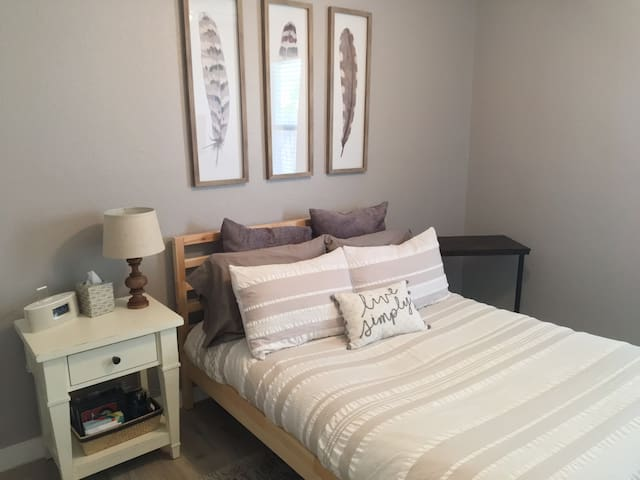 Modern Farmhouse Guest Room in Cedar Park