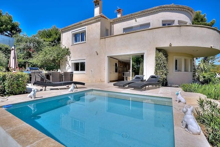 Superbe bas de Villa avec piscine privative