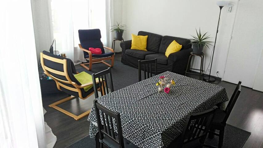 Chambre cosy et salle de bain privatives - Lognes - Apartament