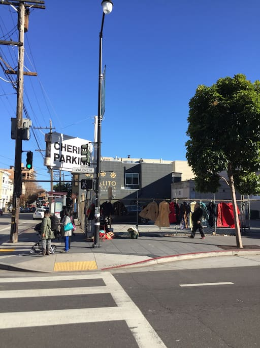Photo of Valencia Street in Mission District