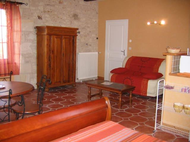 Studio meublé  proche Châtellerault, mobilité prof - Thuré - Apartment