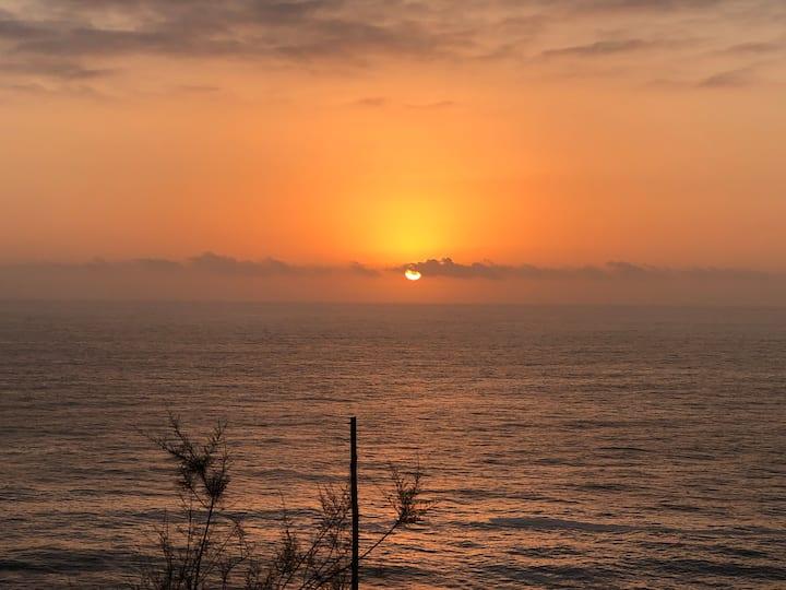 PUNTA GRIEGA: departamento vista al mar,Horcon.