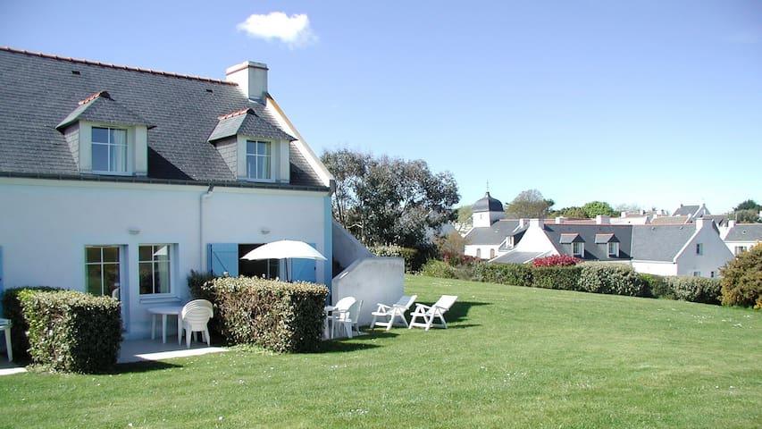 Belle ile, maison avec vue sur mer