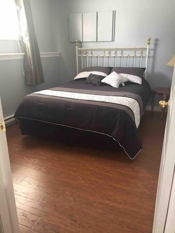 Queen bed - room #1