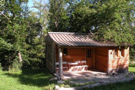 Chalet forestier tout confort hébergement insolite - La Bréole
