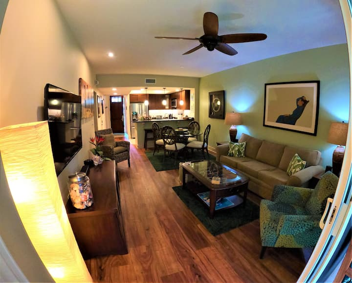 Hali'i Kai at Waikoloa 2B - Luxury 2 Bedroom 2 Bath Ground Floor Villa!!!