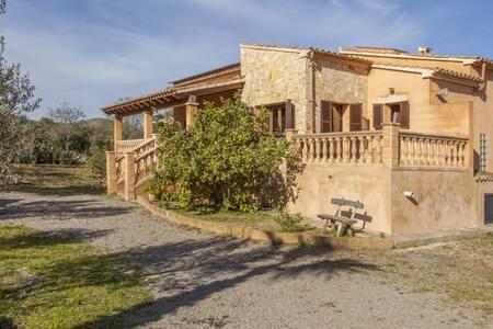 Acogedora y romántica casa de campo