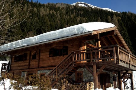 Stylish luxury chalet with superb Mont Blanc views - Chamonix