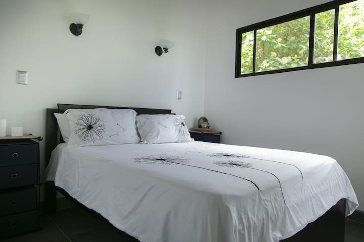 2nd bedroom on the 2nd floor. Equipped with aircondition