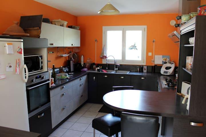 Maison familiale à Clisson pour 10 à 19 couchages