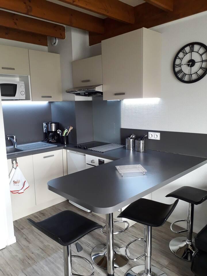 Duplex 33 m² - Les minimes - 2 voyageurs (+2 )
