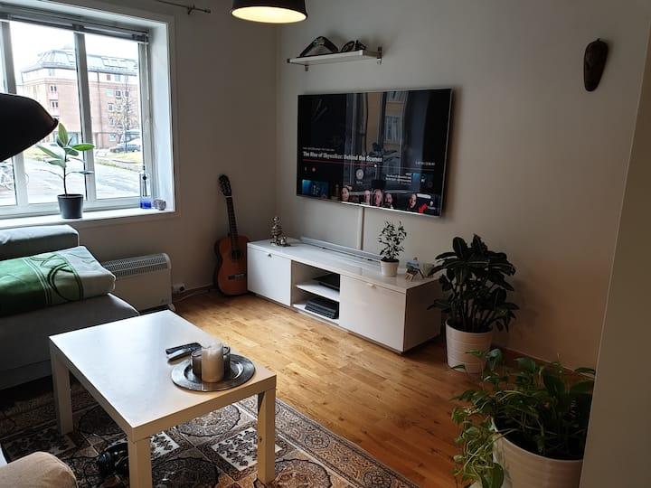 Sentrumsnær leilighet for 2+1
