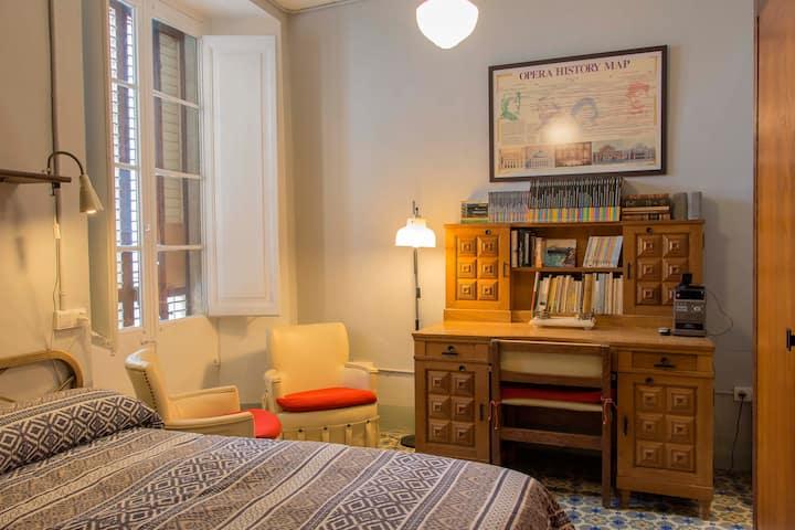 Habitació amb 2 llits a Cal Riba de la Geltrú