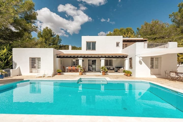 luxurious Ibiza family villa with private pool