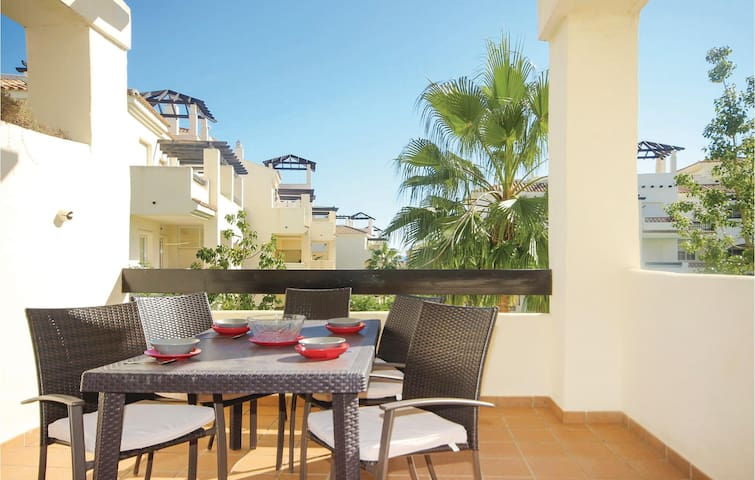 Holiday apartment with 2 bedrooms on 63m² in San Luis de Sabinillas