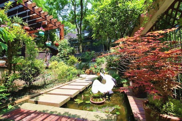【浣莲】机麻·独院·玫瑰花园别墅(青城·花郡)