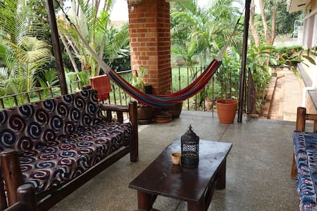 Tranquil and Leafy Four Poster Double Room - Kampala