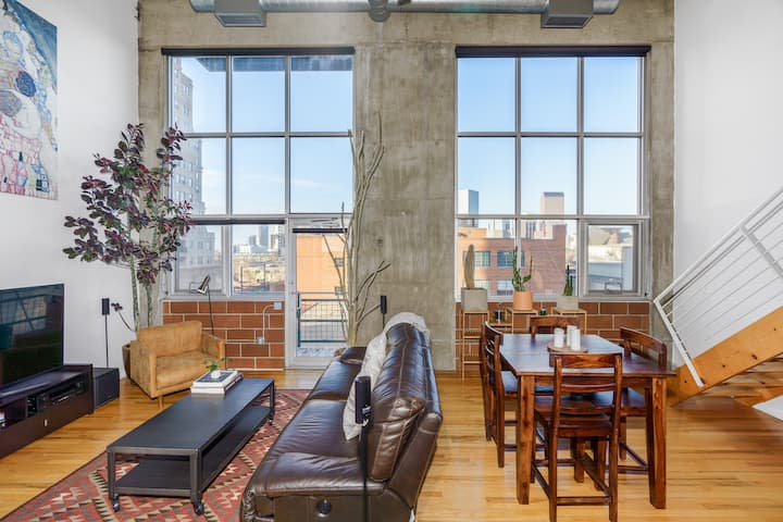 Sprawling Downtown Loft