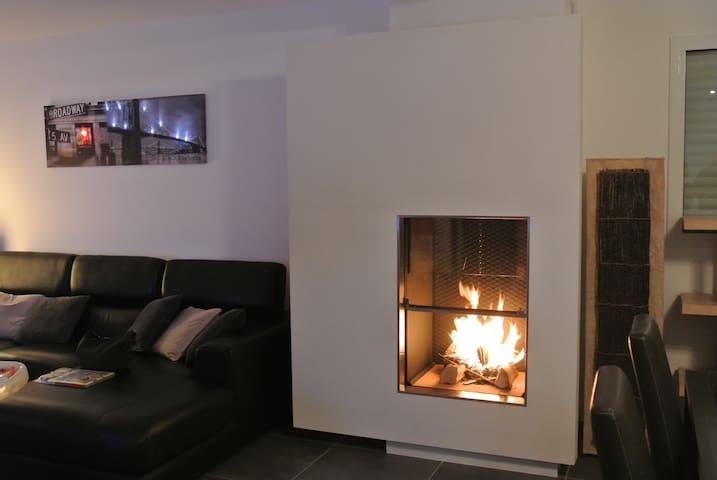 Maison contemporaine en Normandie - Illeville-sur-Montfort - Casa
