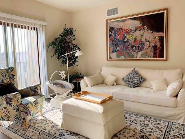 洛杉矶*熙臻行馆 Van Gogh高级豪华公寓两房两厅两卫整套公寓