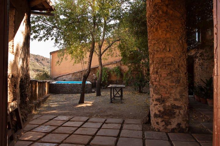 Ferienhäuser El Zarzo de Nemesio,tradition und Mod