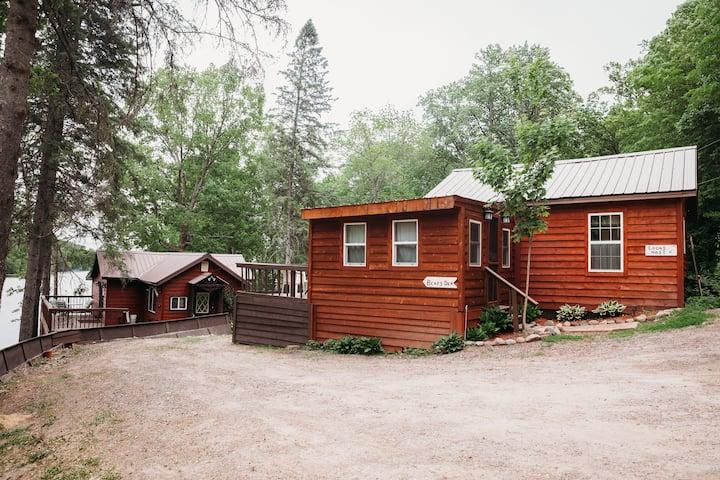 Birch Lake Cabin, Birchwood, WI  (Loon's Nest)