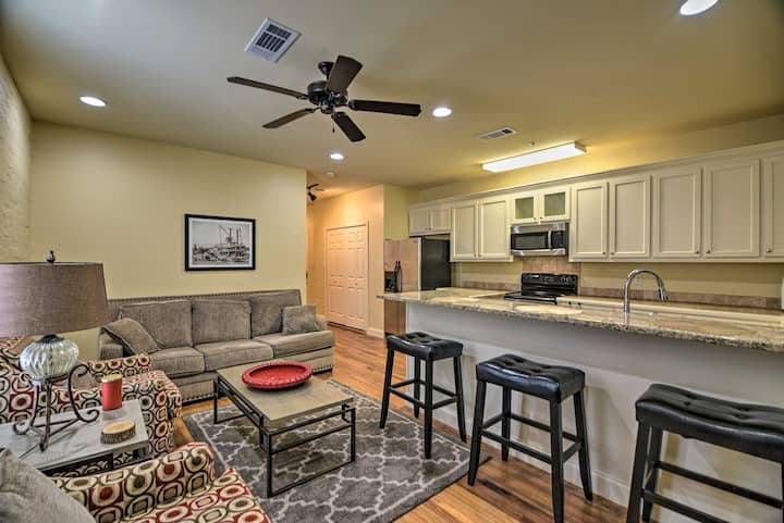 NEW! Historic Downtown Condo, Walk to Riverfront!