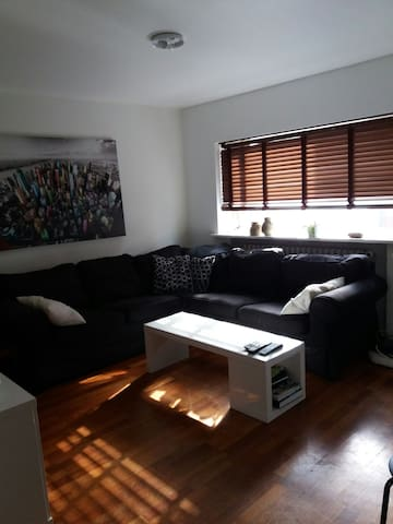Cozy three bedroom flat w/parking - Keflavík - Daire