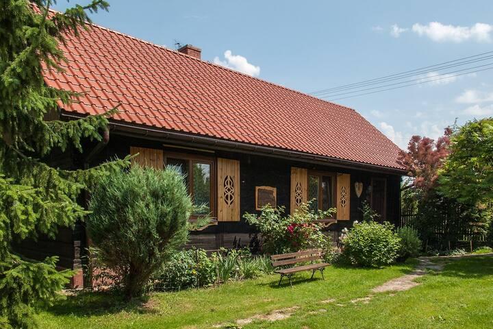 Chata Pod Lasem - domek do wynajęcia
