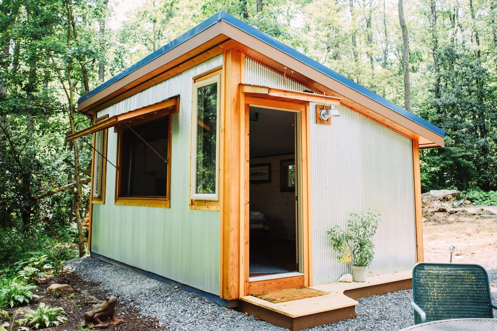 Tiny house with big style.