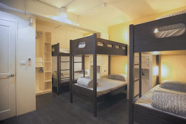 八人混合房 (D3) 大安區溫馨小屋