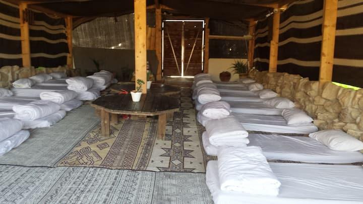 Desert Camping Israel -  Shepherd's Tent Dorm