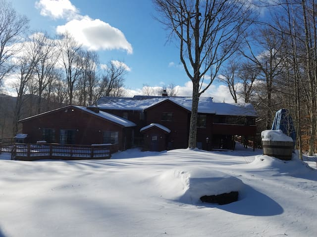 Chez Martine (sleeps 19 plus 2 pull out couches) - Tannersville