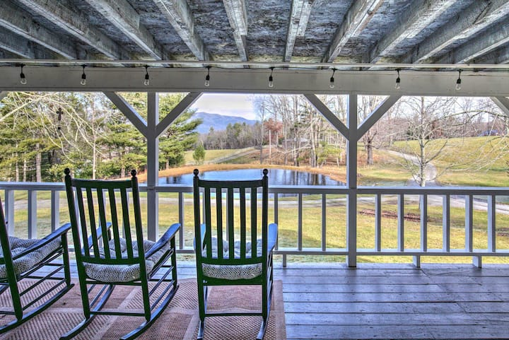 Mountain City Tranquil Retreat w/all the Amenities