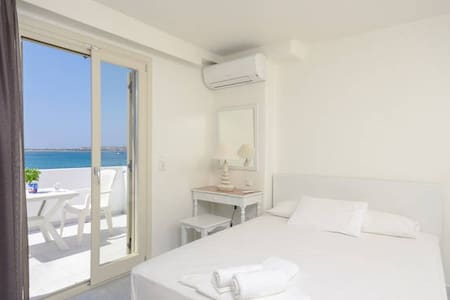 Junior suite with sea view - Bed & Breakfast