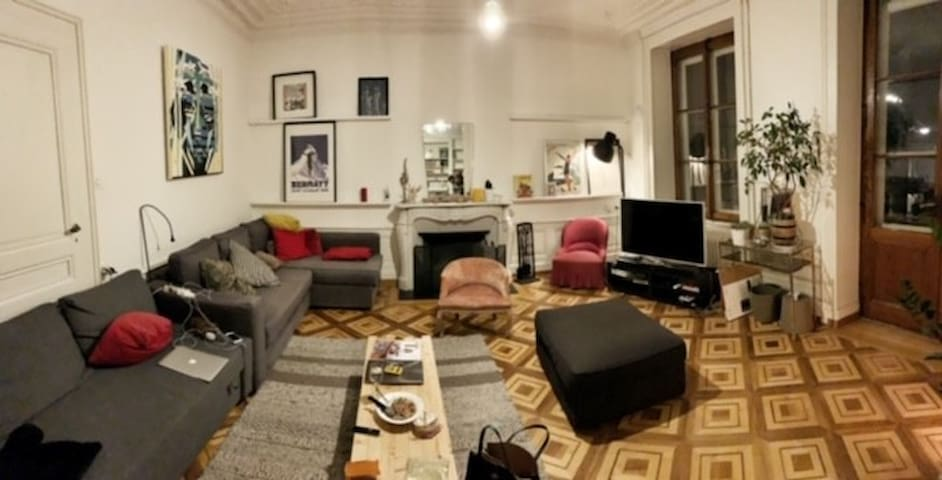 Chambre dans une maison en colocation