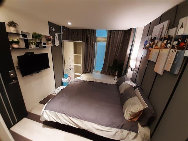 W公寓2E   全新超棒時尚藝術風格獨立衛浴套房
