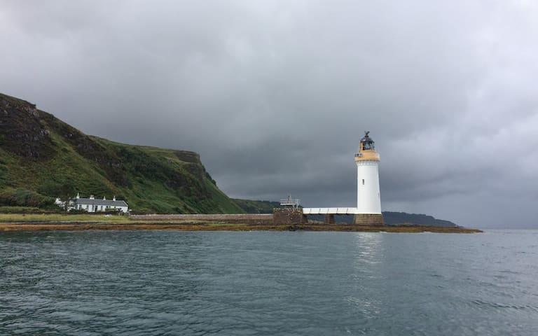 Rubha nan Gall Lighthouse Keeper's Cottage