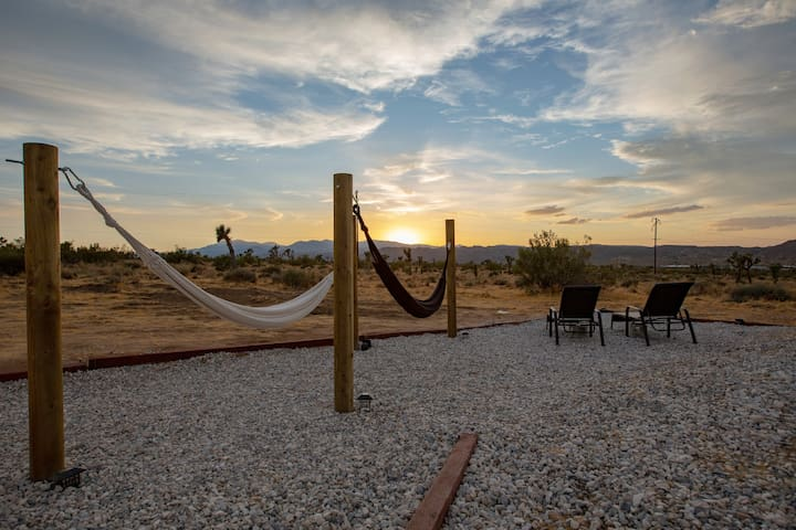Our newly added courtyard features hammocks and lounge chairs for blissful relaxation.