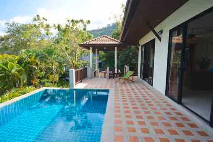 VILLA KOH SAMUI - Seaview & Pool Orchid Villa