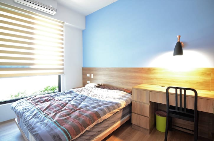 Private Room in Lovely Beryl Home - Luzhu District - Wohnung