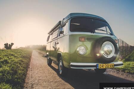 Volkswagen T2 T3 camper huren - Asperen