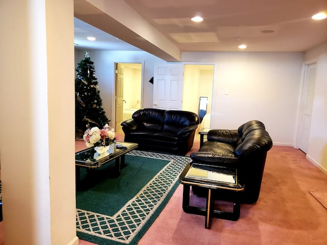 Beautiful 2 Bedroom Private Basement Apartment.