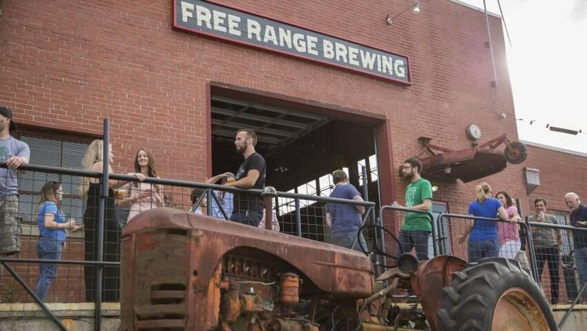 Walk to Free Range Brewing
