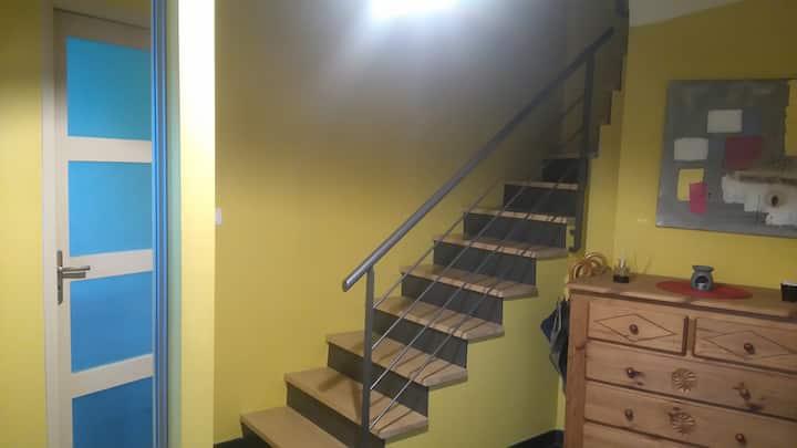 chambre avec entrée indépendante dans maison