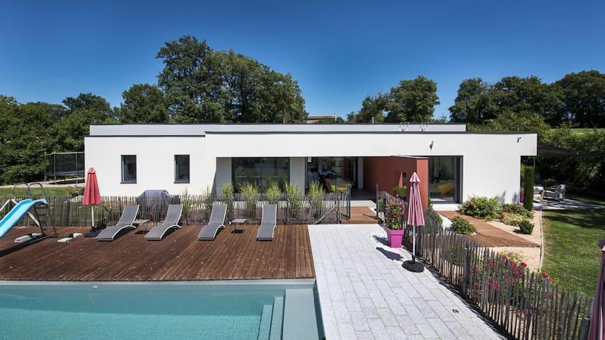 Albi proche maison contemporaine piscine chauffée - Carmaux - Holiday home