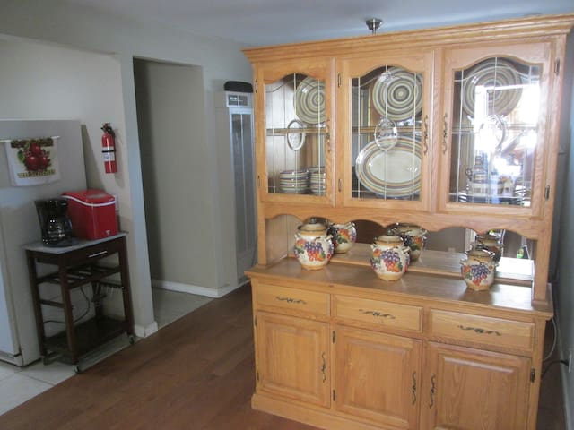 Beautiful china cabinet and display pieces