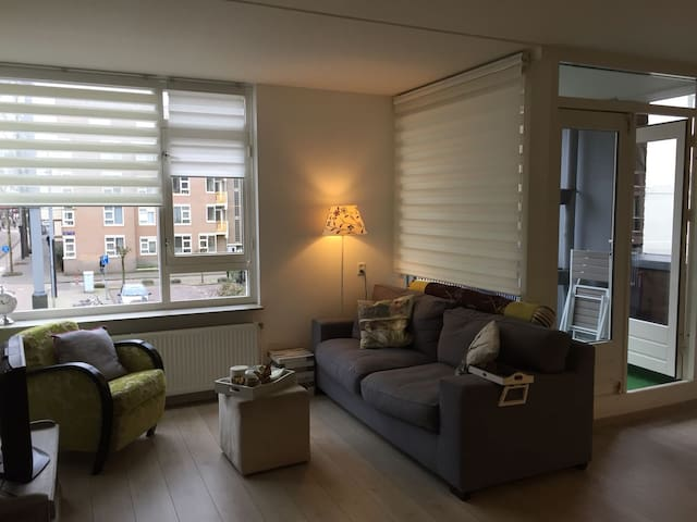 Bright apartment in east side center of Amsterdam