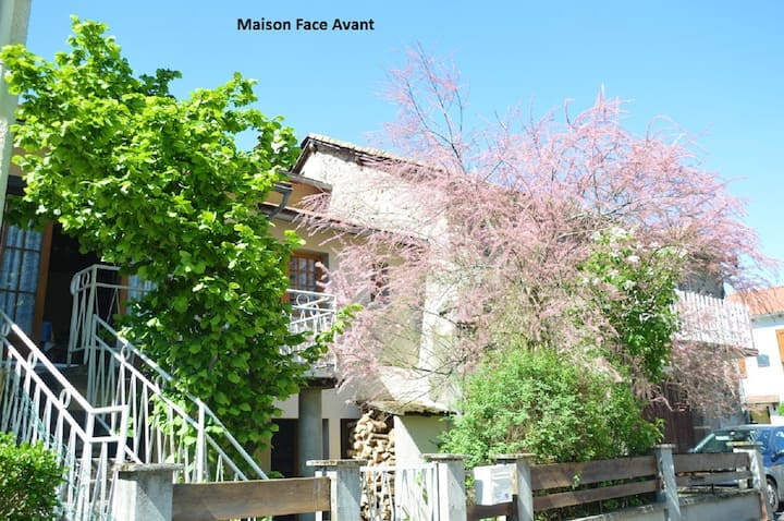 Property with 2 bedrooms in Ferrières-Saint-Mary, with wonderful mountain view and enclosed garden