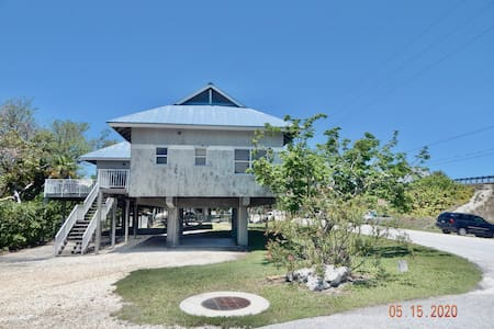 Tropical 3 Bedroom Island Villa in heart of Keys!